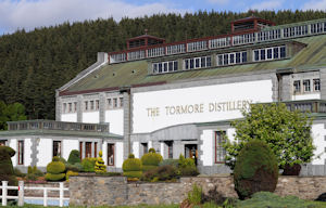 Photo of the Tormore Distillery