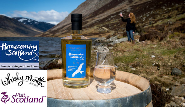 VisitScotland | Brand new gin and whisky recipes unveiled ahead of Whisky Month 2014 | 29th April, 2014