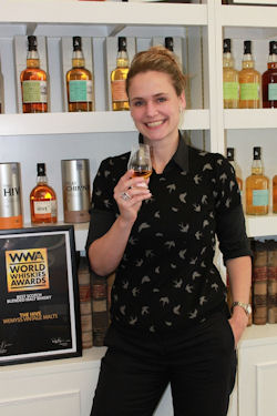new regional sales manager, Jenny Karlsson - Wemyss Malts