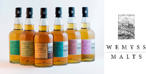 Wemyss Malts new Single Cask releases for July 2014 including 31 yo from Bowmore Distillery