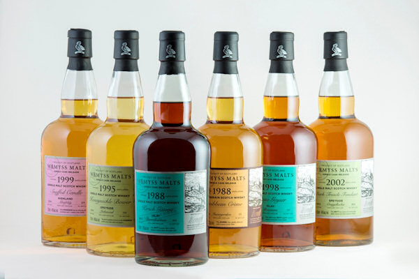 "Wemyss Malts new Single Cask releases including cask strength ""Kirsch Gateau"" from Islay :: 5th February, 2015"