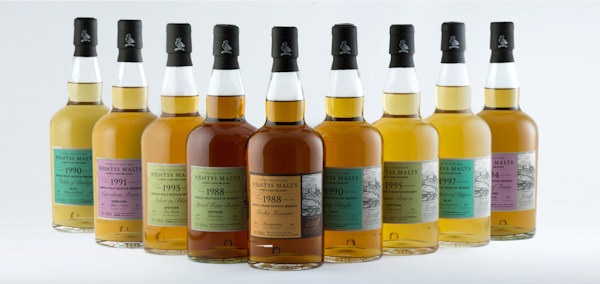 Wemyss Malts Midsummer single cask release 2016 :: nine new single cask whiskies ranging from 18 to 27 years old :: 21st June, 2016