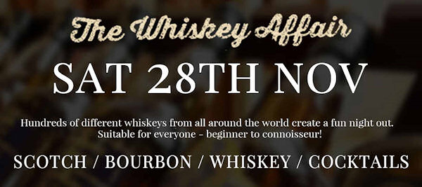 The Whiskey Affair: New event debuts in London this November