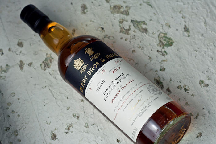 Orkney 15 Year Old 2002 Berry Bros Exclusive #3 - 56.8% Vintage 2002. Exclusive from the Whisky Barrel
