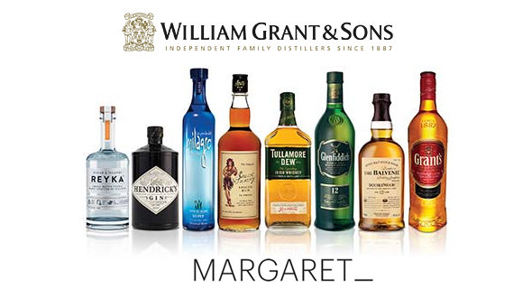 Margaret wins global PR account for William Grant & Sons Innovation brands - 14th March, 2014