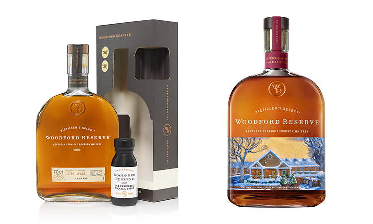 Create The Perfect Drinks Trolley This Festive Season With Woodford Reserve's Limited Edition Whiskey Gift Range