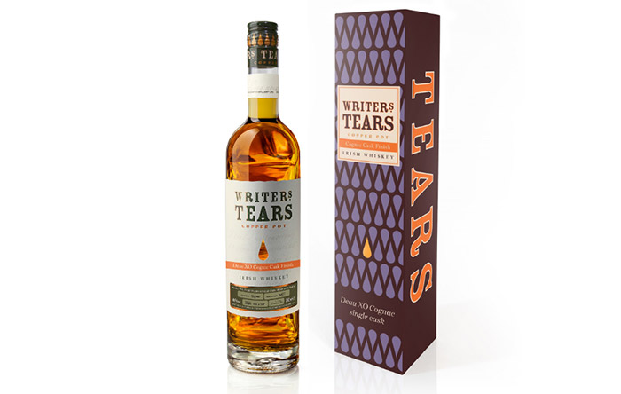 New Irish Whiskey With A French Connection Writers' Tears Copper Pot Deau XO Cognac Cask Finish