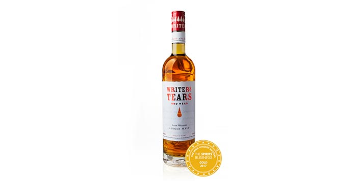 Walsh Whiskey Distillery: Writers' Tears Red Head Wins The Masters: 10th August, 2017